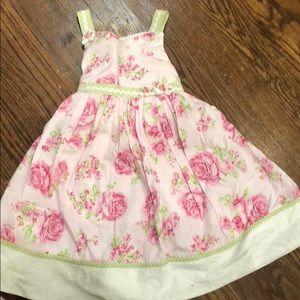 Flower Biscotti dress